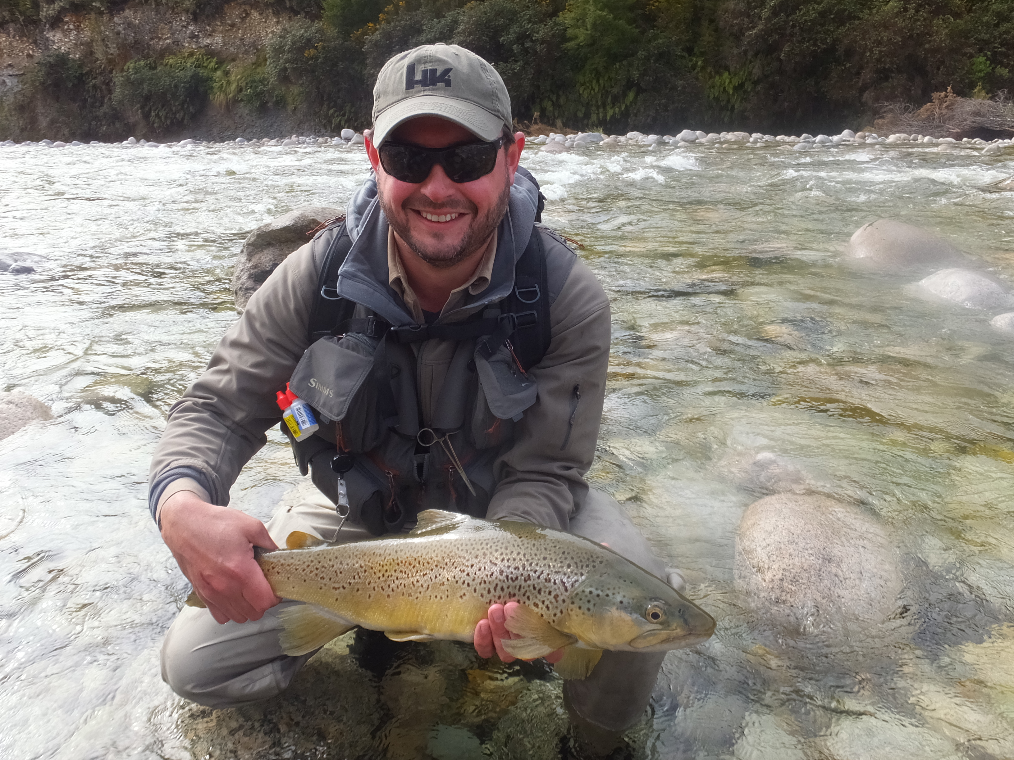 Trout fishing nz trout fishing trips fly fishing for Fly fishing vacation packages