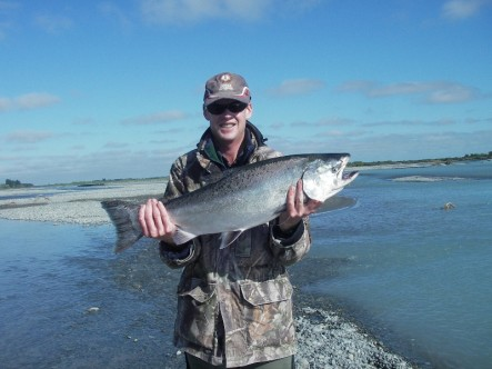 Rakaia River Fishing